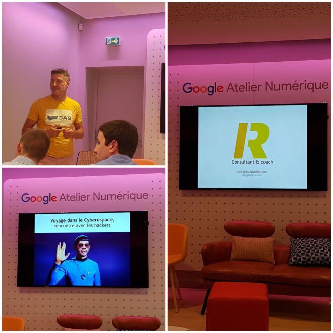 Atelier numérique de google - Rennes